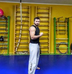 Тренер Абшилава Георгий Важаевич - Харьков, Кикбоксинг, Таеквон-до ITF